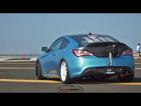 Incredible 1000 HP Hyundai Genesis Coupe by Bisimoto Engineering