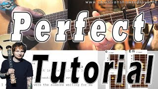 Download Lagu 🎸Ed Sheeran - PERFECT Guitar Lesson | Original Picking + Strumming | Tabs / Chords Mp3