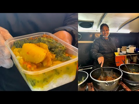 Astonishing ETHIOPIAN street food with Lentils, Beans, Spinach,Samosa, Chickpeas