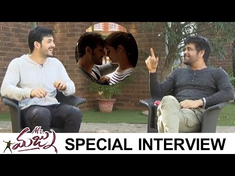 Akkineni Nagarjuna Interviews Akhil About Mr Majnu | Super Fun Interview | TFPC
