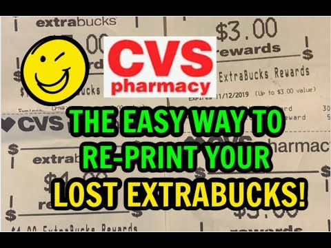 HOW TO RE-PRINT YOUR LOST EXTRABUCKS 1-2-3 💃   Savvy Coupon Shopper