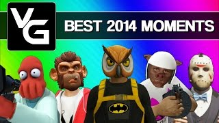 Repeat youtube video Vanoss Gaming Funny Moments - Best Moments of 2014 (Gmod, GTA 5, Skate 3, & More!)