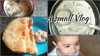 Morning Breakfast Vlog l A small Vlog -5 l Jlo Creations
