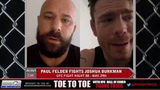 UFC Fight Night 88's Paul Felder: 'I have to prepare for everything against Josh Burkman'