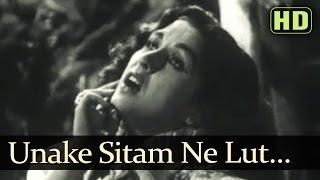Unake Sitam Ne Lut Liyaa - Songs Of Kali Ghata - Kishore Sahu - Bina Rai - Shankar Jaikishan