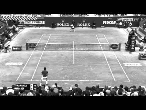 Roger Federer vs Stanislas Wawrinka   Monte Carlo 2014   Nice points HD