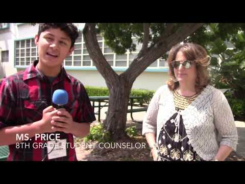 Man on the Street Interviews: What Do You Like About Palms Middle School?