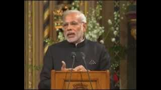PM addresses British Parliament in London, UK