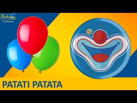 Patati Patatá - Sugestão de Decoração de Festa - Tema Patati Patatá