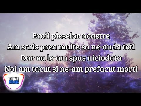 Irina Rimes - Eroii Pieselor Noastre | VERSURI [piesa nelansata]