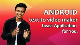 Text to video maker for android screenshot 4