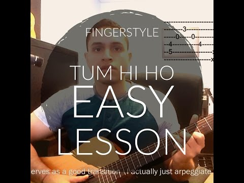 Piano piano tabs of tum hi ho : Detail for Lesson 2 - Hi