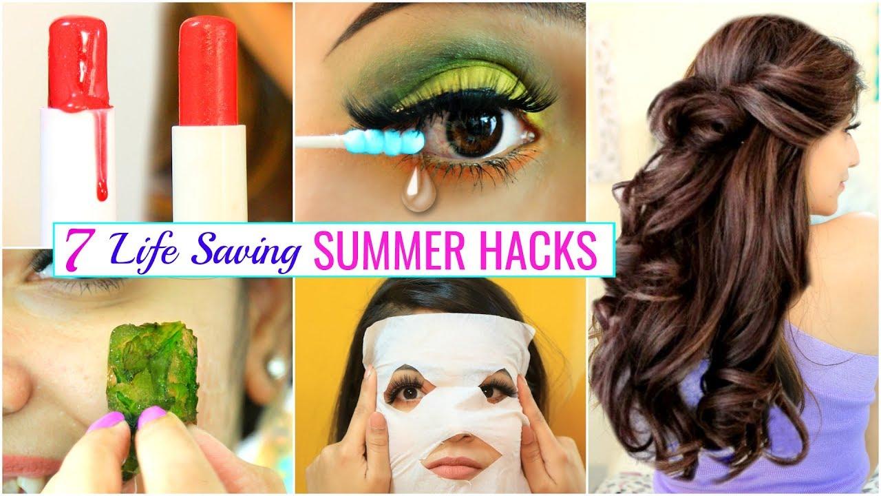 7 LIFE Saving SUMMER HACKS for Every TEENAGERS .. | #Haircare #Skincare #Beauty #Anaysa