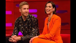 "Download Lagu Dua Lipa was almost dropped off from Calvin Harris Collaboration ""One Kiss"" Mp3"