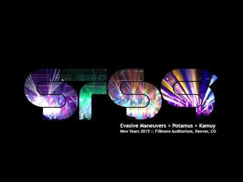 STS9 -- Evasive Maneuvers ► Potamus ► Kamuy -- New Years 2014/2015 - Fillmore Auditorium, Denver, CO