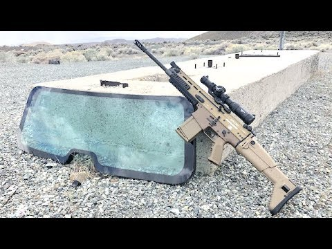 PUBG Scar 17 Vs Humvee Windshield In Real Life