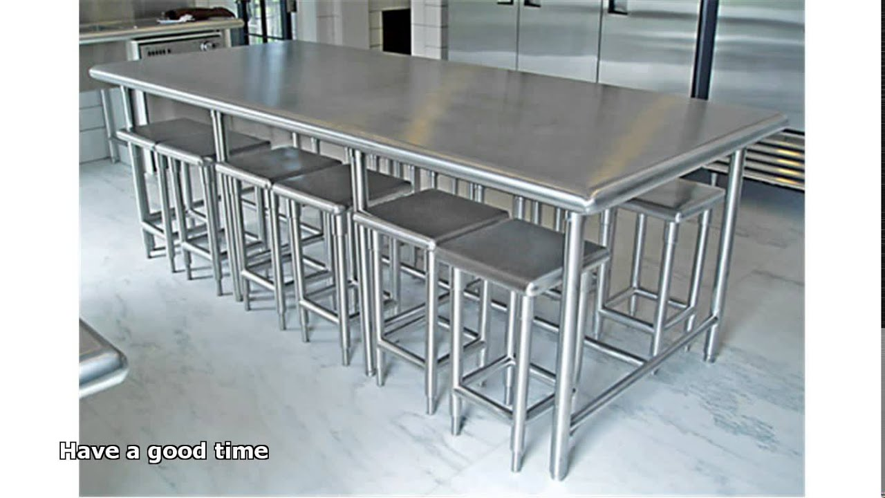 Stainless Steel Furniture Youtube