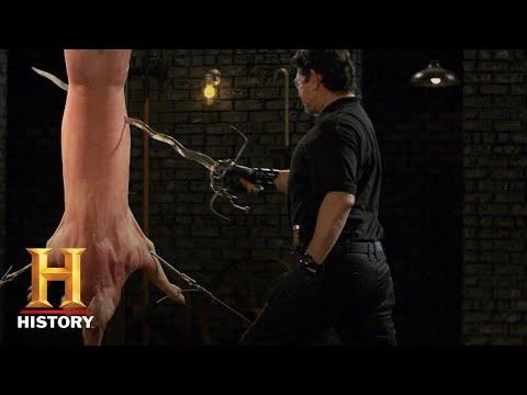 Forged in Fire: Renaissance Flamberge Rapier Test (Season 5) | History