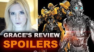 Transformers The Last Knight SPOILERS Movie Review