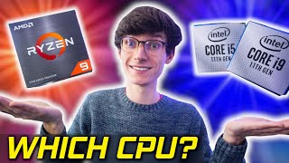 AMD vs Intel! - What's The Best CPU For Your Gaming PC Build in 2021? (Ryzen vs 11th Gen Processor)