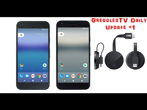 Note 7 Europe Sales Oct 28 | Google Pixel XL First Look | Chromecast Ultra 4K | GregglesTV Daily #1
