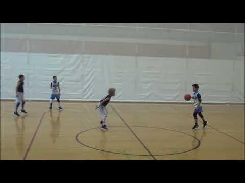 AAU Basketball 11U: Team Nikos vs Oakland Rebels White 2026 2-17-19