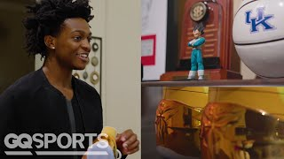 De'Aaron Fox's Rare Sneaker Collection | GQ