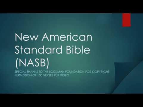 New American Standard Bible NASB Genesis 1