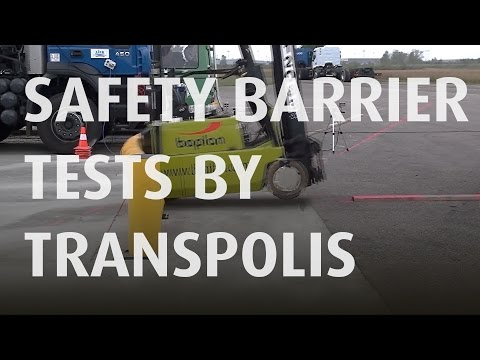 BOPLAN - Flex Impact® safety barrier tests by Transpolis