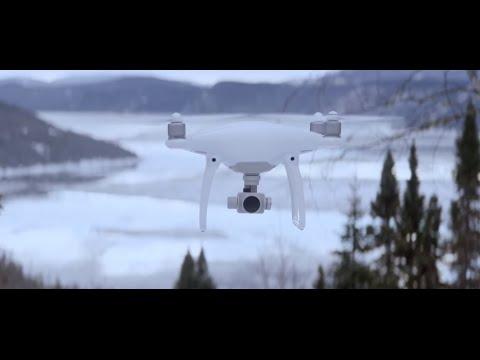 Квадрокоптер DJI Phantom 4 - Какой вес может поднять - YouTube