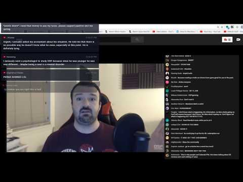 EMERGENCY DSP STREAM!!! TWITCH BAN, MASSIVE TAX FRAUD AND MORE DETRACTOR VIEWERS, Not Click Bait 😉