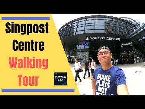 SingPost Centre Walking Tour 2019 - Singapore Mall