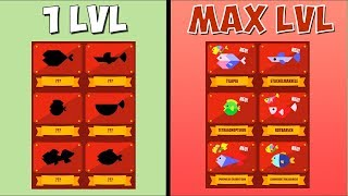 MAX LEVEL (ALL FISHES) IN GO FISH BY KWALEE!