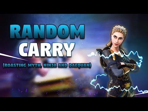 Roasting Myth Ninja & Daequan Random Carry