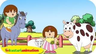 Kutahu Nama Satwa (domba, sapi, kuda) - Kastari Animation Official
