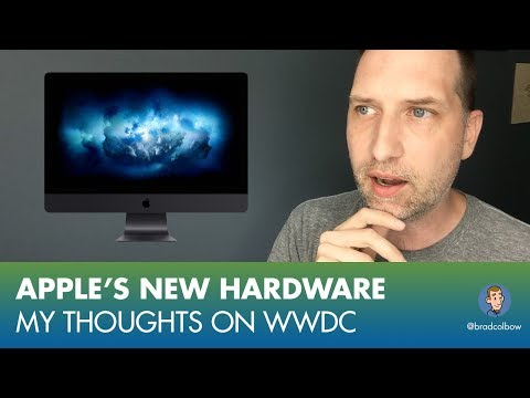 Apple's New Hardware, My Thoughts on WWDC