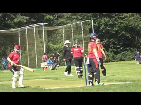 Cricket: Womens European T20 Tournamant 2016 Denmark v Germany Aug.6