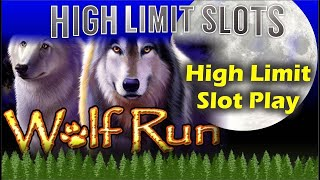 🐺WOLF RUN SLOT MACHINE HIGH LIMIT SLOTS FUN 🎰 JACKPOT * HIGH LIMIT SLOTS