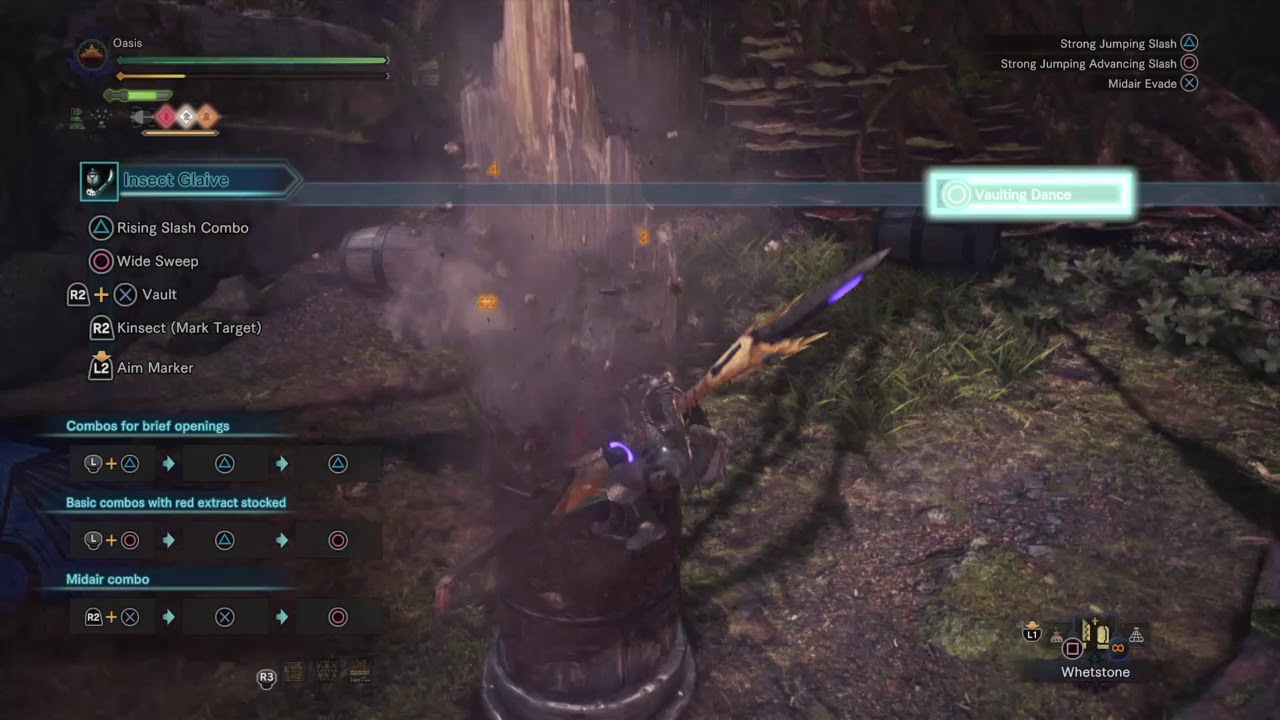 Monster Hunter World Beta Insect Glaive Aerial Combo Infinite