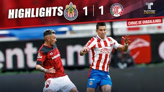 Chivas vs. Toluca 1-1 | Highlights & Goals | Telemundo Deportes