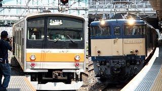 2019/09/06 【譲渡配給輸送】 205系 M18編成 EF64-1032 大宮駅 | JR East: Delivery of 205 Series M18 Set to Jakarta