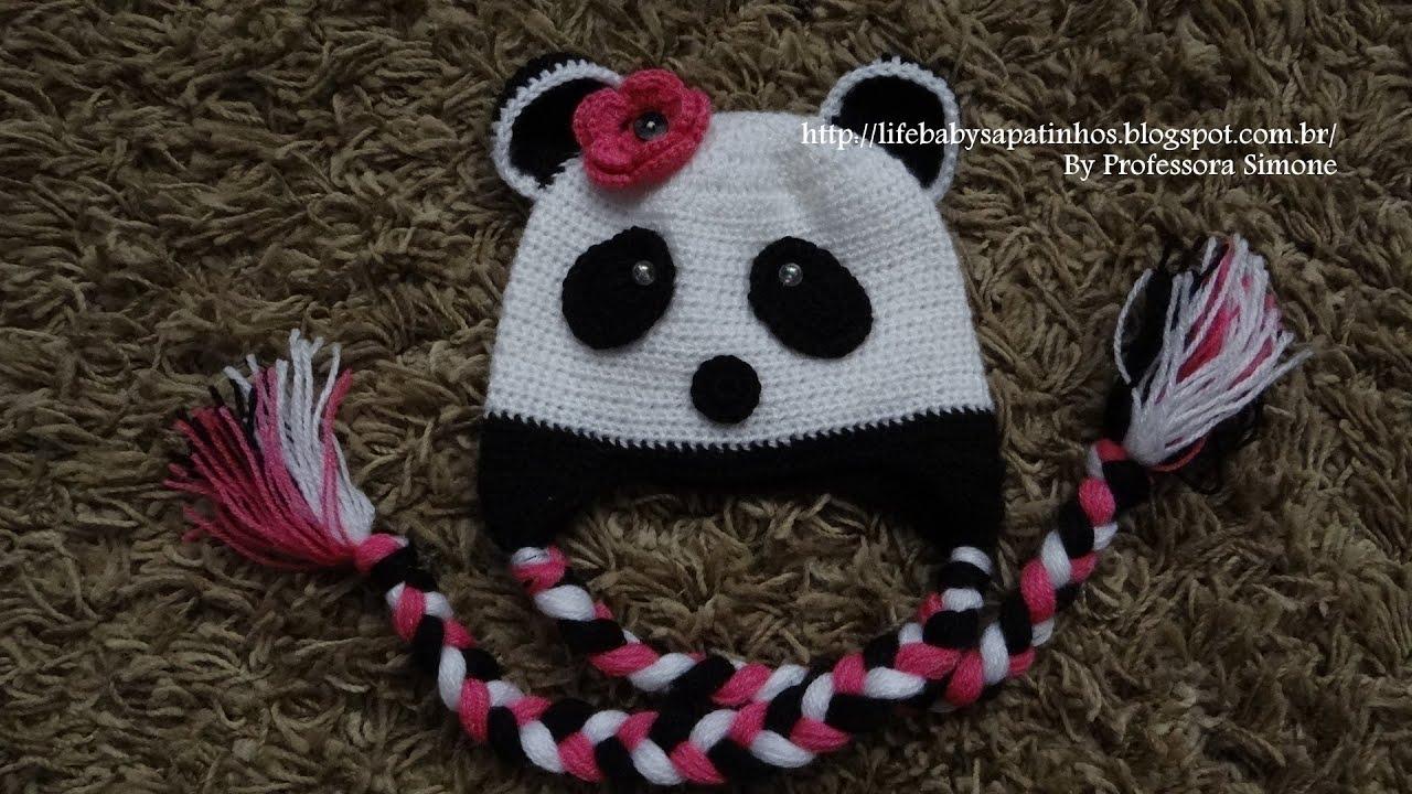 Passo a passo Touca Ursinho Panda Parte-1 - YouTube 232b1ded0fb