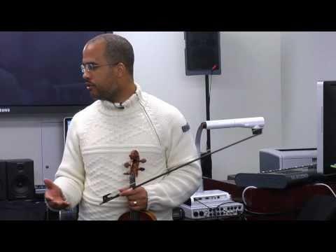 Daniel Bernard Roumain at Montclair State University