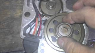 gm chevy np246 transfer case motor encoder ring swap