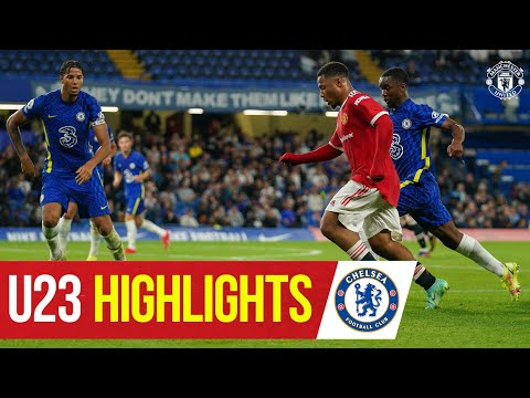 U23 Highlights |  Chelsea 1-1 Manchester United |  The academy