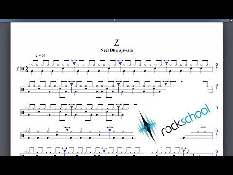 Z Rockschool Debut Grade Drums