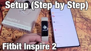 Fitbit Inspire 2: How to Setup (Step by Step)
