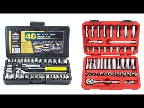 Top 5 Best Socket Wrench Reviews 2017 | Cheap Socket Wrench Set