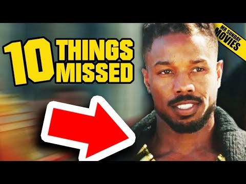 BLACK PANTHER Trailer 2 - Things Missed & Easter Eggs