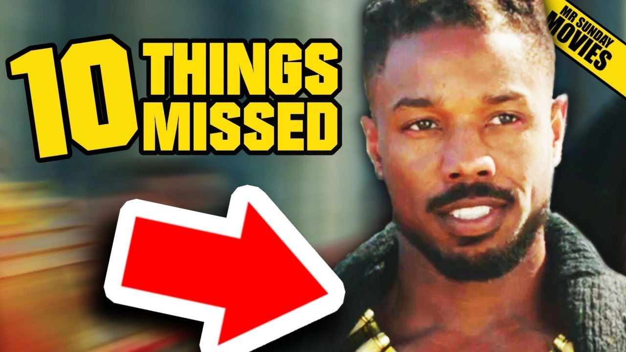 BLACK PANTHER Trailer 2 – Things Missed & Easter Eggs